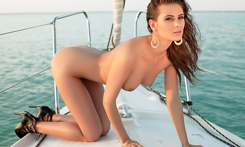 Babes on a boat naked compilation